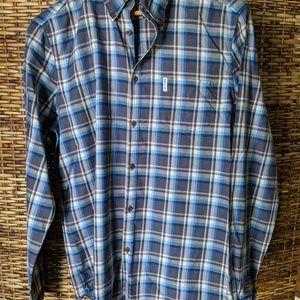 Ben Sherman Plaid Shirt L